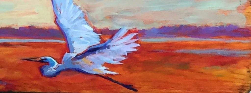 On the Wind, oil 15x30