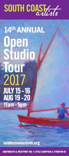 South Coast Artists Open Studio Tour brochure